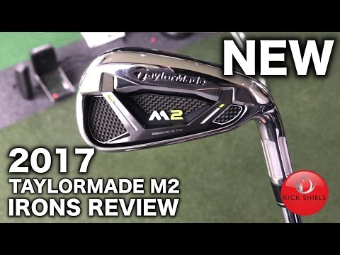 NEW 2017 TAYLORMADE M2 IRONS REVIEW