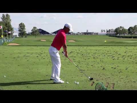 Anthony Kim Golf Swing @ 2009 US PGA