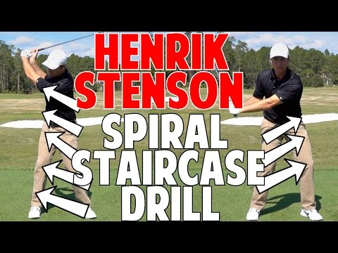 Pete Cowan Spiral Staircase | Henrik Stenson Drill