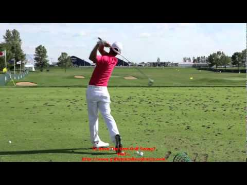 Anthony Kim Golf Swing @ 2009 US PGA