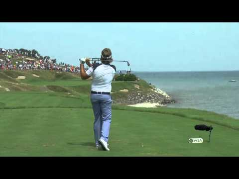Victor Dubuisson   Amazing swing   US PGA 2015