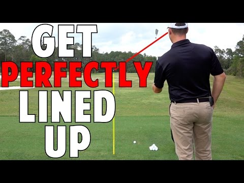 How to Get Perfectly Lined Up in Golf Every Time