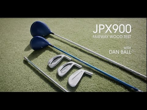 Mizuno JPX900 fairway wood test with Dan the Fitter