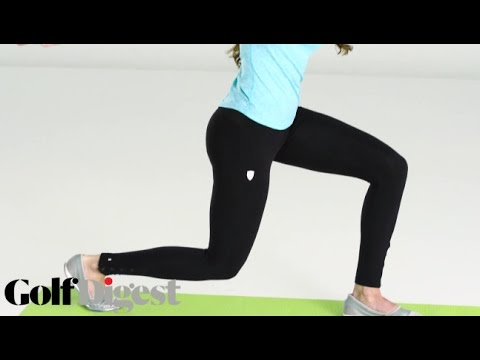 Holly Sonders' Bare Essentials Workout: The Lower Body | Golf Digest