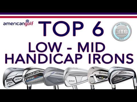 TOP 6 Low – Mid handicap irons in 2017 | Review | American Golf