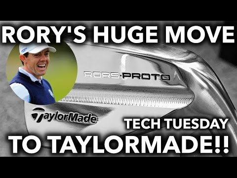 RORY MCILROY SIGNS WITH TAYLORMADE!? Tech Tuesday