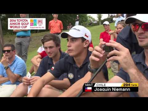 ドライビングコンテスト【2016トヨタジュニアゴルフワールドカップ /2016 TOYOTA JUNIOR GOLF WORLD CUP】