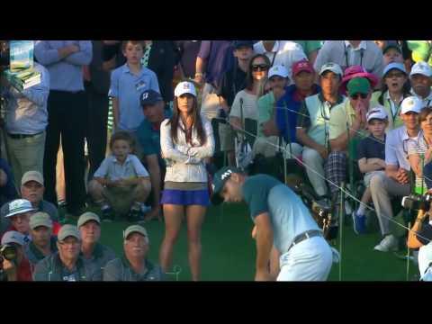 Champion Sergio Garcia's Great Golf Shot Highlights 2017 Masters Tournament Augusta