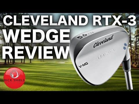 CLEVELAND RTX-3 GOLF WEDGES REVIEW
