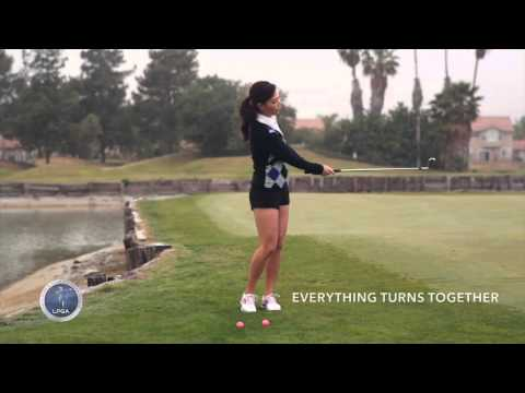 [Golf with Aimee] Aimee's Golf Lesson 004: Basic Fundamentals for Chipping