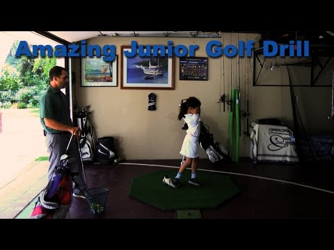 Amazing Junior Golf Drill Using Your Shoe