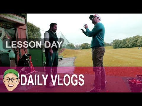 A GOLF LESSON WITH MARK CROSSFIELD