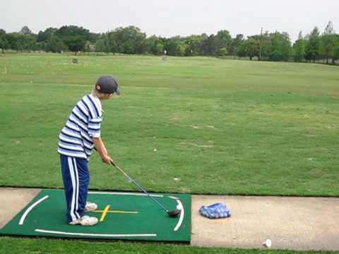 8 year old junior  golf swing – Driver