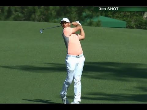 Rory McIlroy's Great Golf Shot Highlights 2017 Masters Tournament Augusta