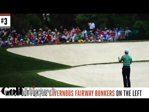 The Masters: The 7 Scariest Shots at Augusta National