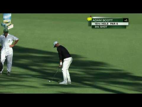 Adam Scott's Great Golf Shot Highlights 2017 Masters Tournament Augusta