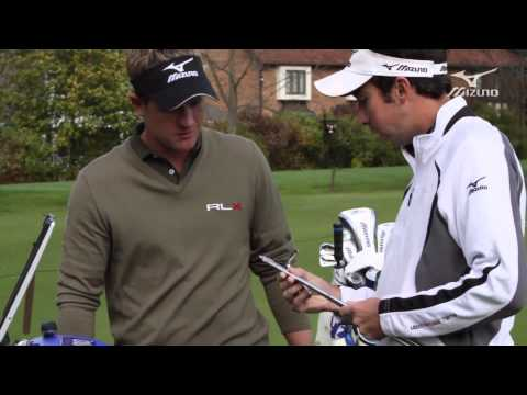 Mizuno Golf Swing DNA   Luke Donald's iron custom fitting