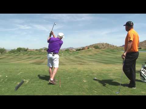 Malaska Golf – Golf Lesson: Swing at the Ball Like You Swing at a Tee