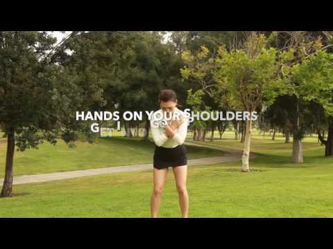 [Golf with Aimee] Aimee's Golf Lesson 026: LET THE LEGS LEAD!