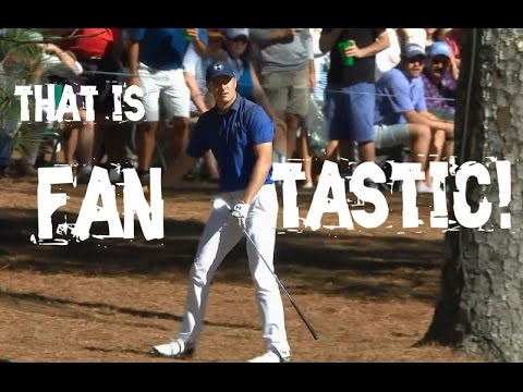 Jordan Spieth's Great Golf Shot Highlights 2017 Masters Tournament Augusta