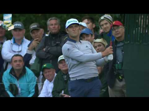 Jon Rahm's Great Golf Shot Highlights 2017 Masters Tournament Augusta