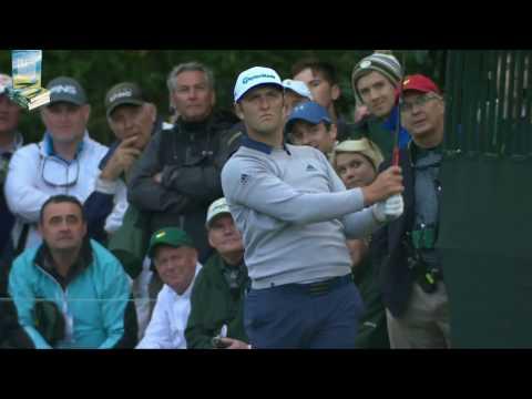 Jon Rahm's Great Golf Shot Highlights 2017 Masters Tournament Augusta