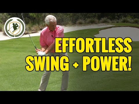 Golf Instruction – How To Get That Easy Swing With Effortless Power