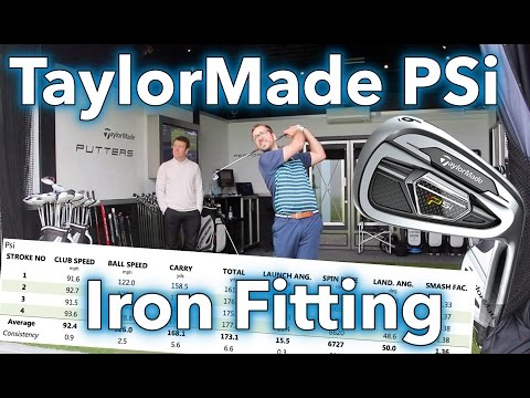 NEW TaylorMade PSi Iron Fitting