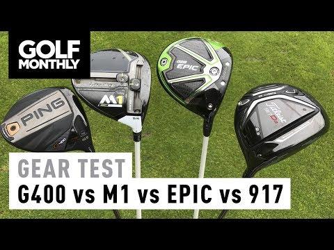 Driver Test – Ping G400 vs Callaway Epic vs TaylorMade M1 vs Titleist 917