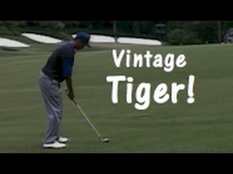 Tiger Woods' Great Golf Shots from 1997 Masters Tournament