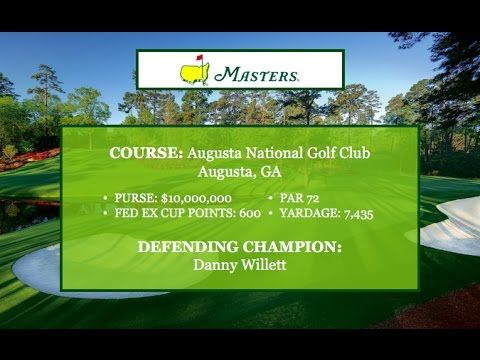 2017 Masters Preview at Augusta National