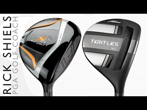 Callaway X2 Hot Deep Vs Adams Tight Lies FW Challenge