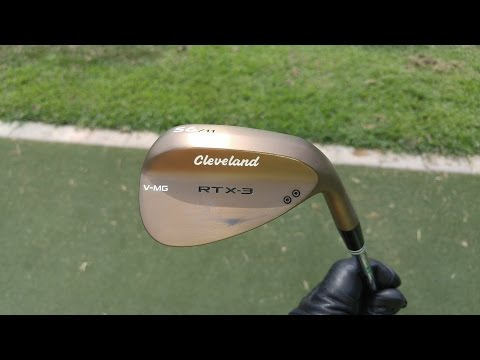 REVIEW: Cleveland Golf RTX-3 wedges