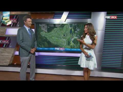 Sexy Holly Sonders Sizzling Compilation 2017 US Open USGA Erin Hills