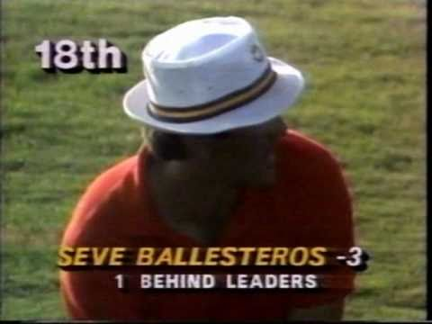 Seve finds water at the '87 USPGA