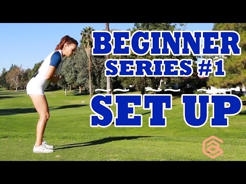 [Golf with Aimee] Swing like Aimee BEGINNER SERIES 001: SET UP