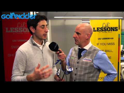 Adams 2015 Blue Hybrid And Irons Review | PGA Show Orlando