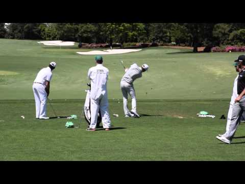 Dustin Johnson: On The Range – The Masters @ Augusta National
