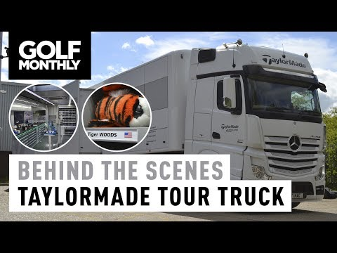 Inside The TaylorMade Tour Truck