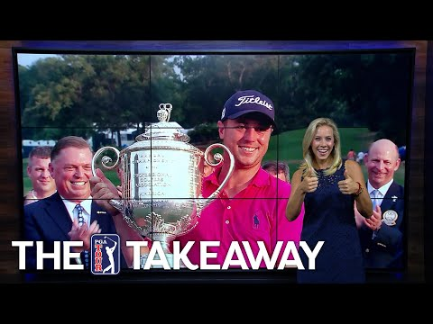 Thomas' crazy major victory, Rickie teases us & Rahm's backward chip