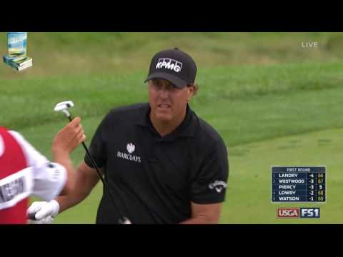 """Buckets!"" Top 25 Best Golf Shots (17 are holeouts!) 2016 US Open Championship at Oakmont"