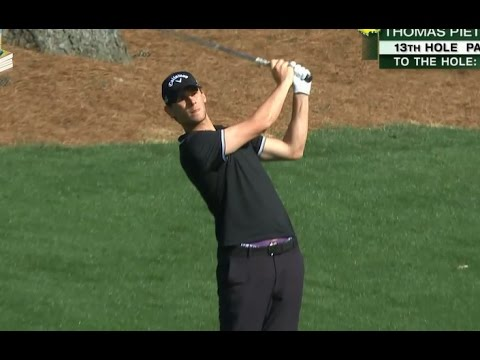 Thomas Pieters' Great Golf Shot Highlights 2017 Masters Tournament Augusta