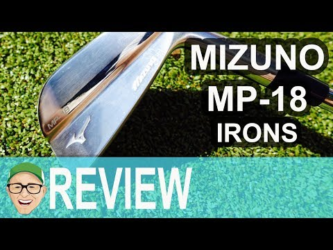 MIZUNO MP18 IRONS