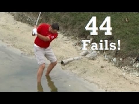 Massive Golf Shot Fail Compilation 2016 WGC Cadillac Championship PGA Tournament
