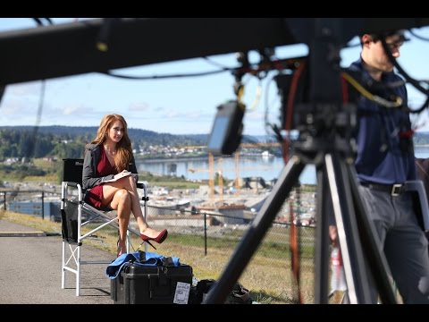 Holly Sonders Shares Impressions of Chambers Bay | GOLF.com