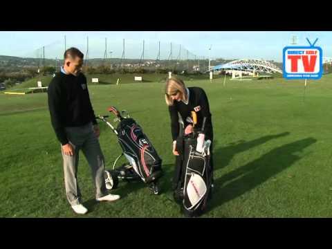 DGTV Adams Golf Tech Lock Cart Bag – Video Review