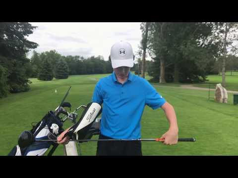 What's In the Golf Bag – Junior Golfer Kyle Bryden