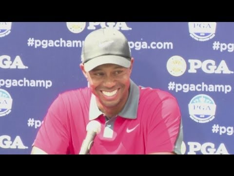 Tiger Woods on 2013 US PGA Golf Championship