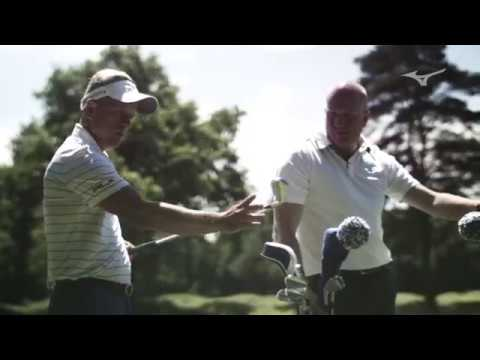 Mizuno MP-18 irons / First impressions with Chris Wood and Luke Donald