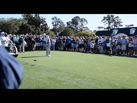 Jason Day's Full Practice Round for The Masters at Augusta National